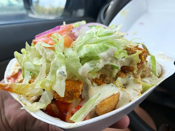 chicken zack plate