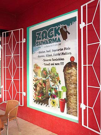 zack shwarma sign
