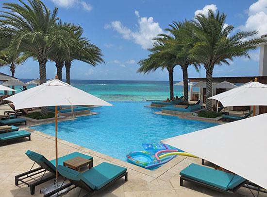 signature pool at zemi beach house