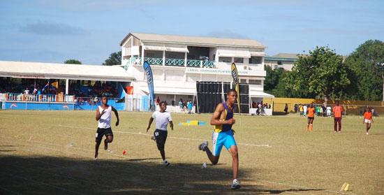 Anguilla, Zharnel Hughes, sprinter, track & field, Ronald Webster Park