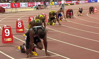 zharnel hughes at beijing start
