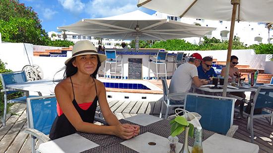 yuki at cuisinart beach bar and grill