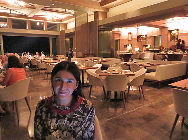 yuki inside coba restaurant at four seasons