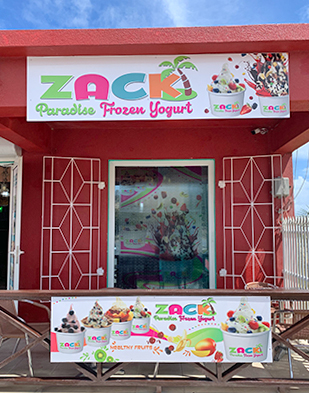 Zack Paradise Frozen Yogurt