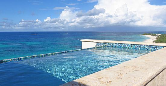 zemi beach penthouse pool
