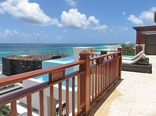 main terrace at zemi beach house zemi suite