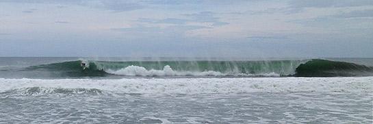 zicatela surfers at puerto escondido