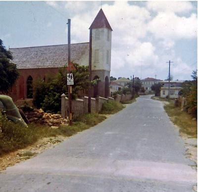 Church on the road to Crocus Bay