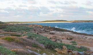Scrub Island, Seen From Windward Beach