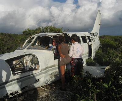 The Old Plan Crash on Scrub Island