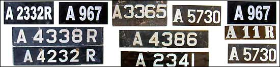 Anguilla license plates