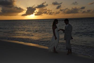 After our 5pm Anguilla Wedding...