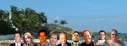 Celebs On Anguilla The Stars Come Out