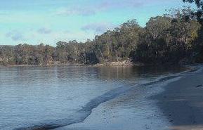 Drip Beach, Tasmania (from eftel.com.au)