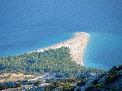 Golden Cape Beach, Brac Island Beach, Croatia