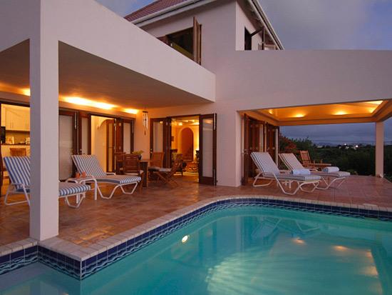 anguilla villa pool