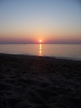 There's nothing quite like a beach sunset!