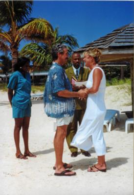 Our Intimate Anguilla Wedding Ceremony<br>Right on the Beach