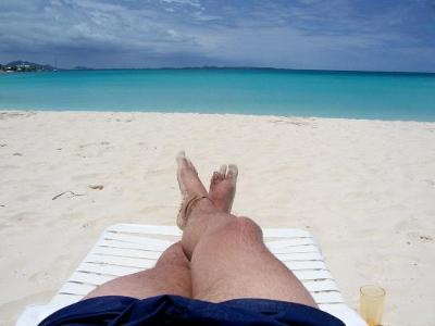Relaxing in Anguilla
