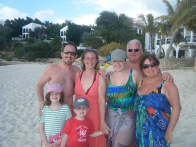 2010 Whole Family Meads Bay Anguilla