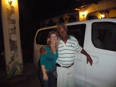 Frank and Me... The Best Anguilla Taxi Service