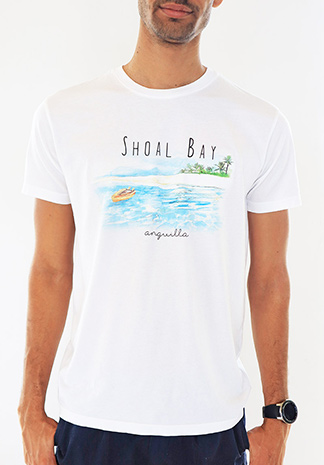 anguilla t-shirt shoal bay