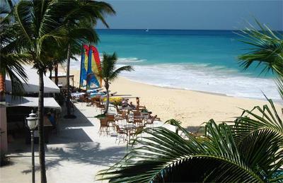 Straw Hat Restaurant on Mead's Bay, Anguilla