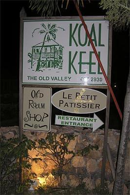 Koal Keel in Lower Valley, Anguilla