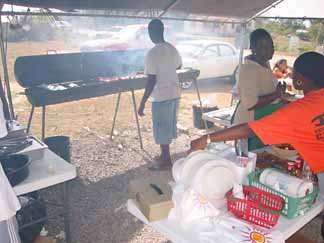 Anguilla Saturday Afternoon BBQ