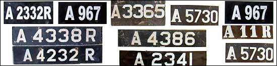 Anguilla license plates