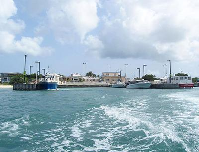 Blowing Point - Anguilla's Port of Entry