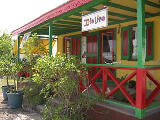 Anguilla shop Irie front