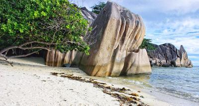 Plage Source D'Argent, Seychelles