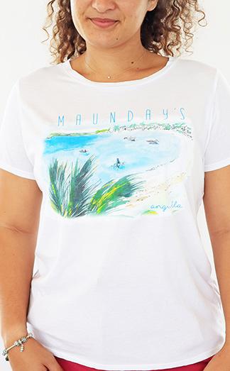 tranquilitee maundays t-shirt anguilla